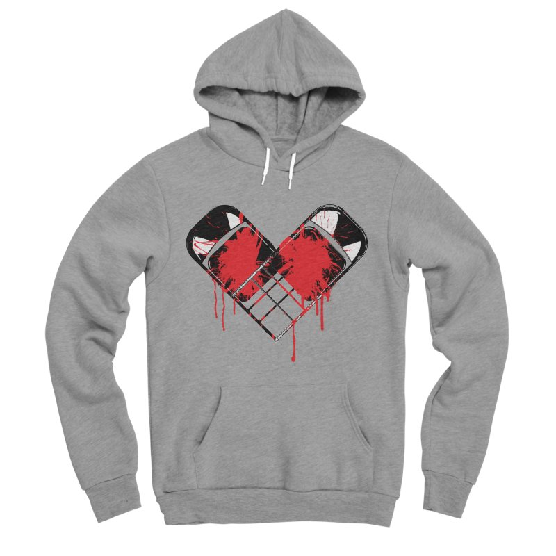 Bleeding Heart Women's Sponge Fleece Pullover Hoody by inbrightestday's Artist Shop