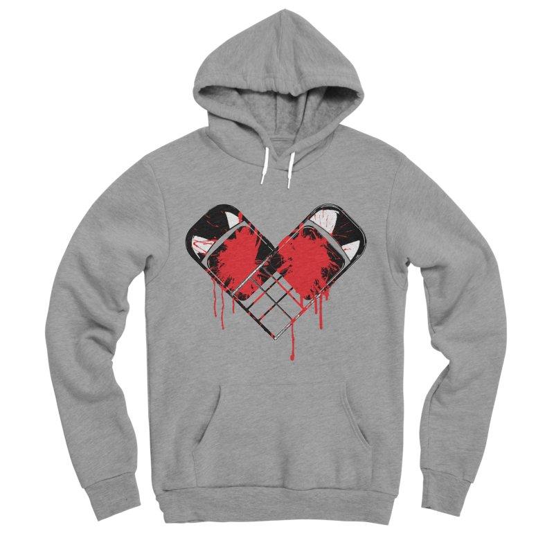 Bleeding Heart Men's Sponge Fleece Pullover Hoody by inbrightestday's Artist Shop