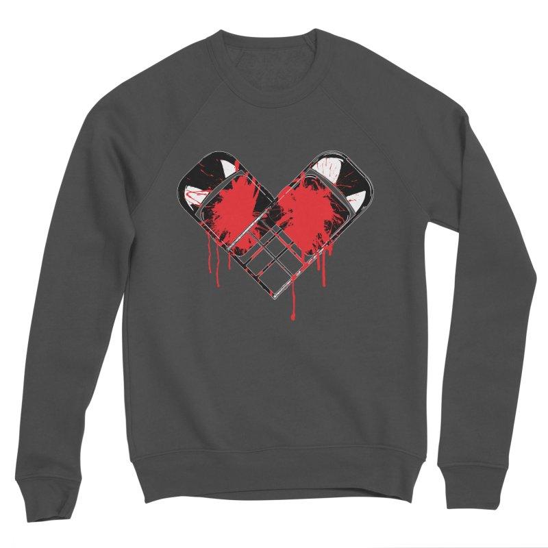 Bleeding Heart Men's Sponge Fleece Sweatshirt by inbrightestday's Artist Shop