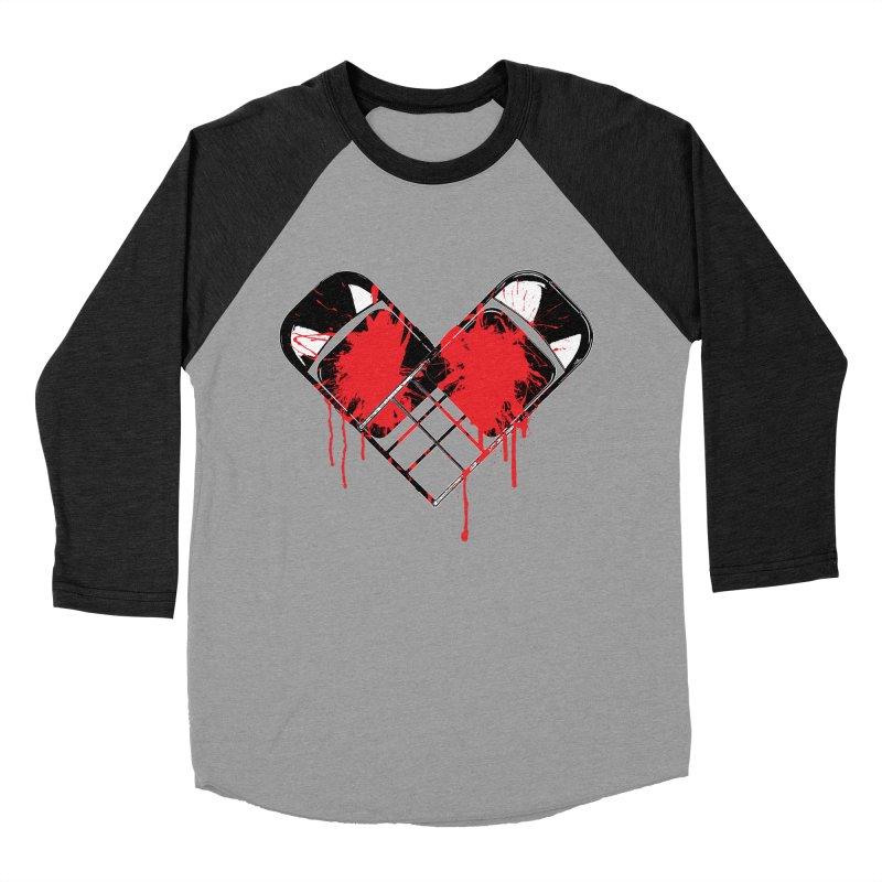 Bleeding Heart Men's Baseball Triblend Longsleeve T-Shirt by inbrightestday's Artist Shop