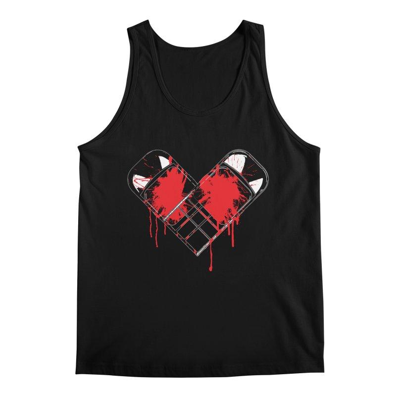 Bleeding Heart Men's Regular Tank by inbrightestday's Artist Shop