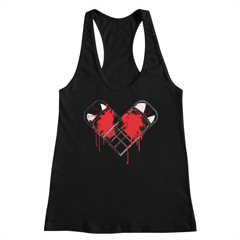 Bleeding Heart Women's Tank by inbrightestday's Artist Shop