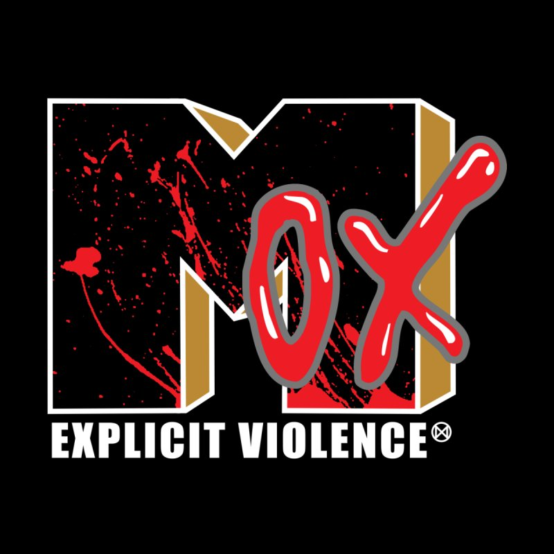 Violent Television (Black) by inbrightestday's Artist Shop