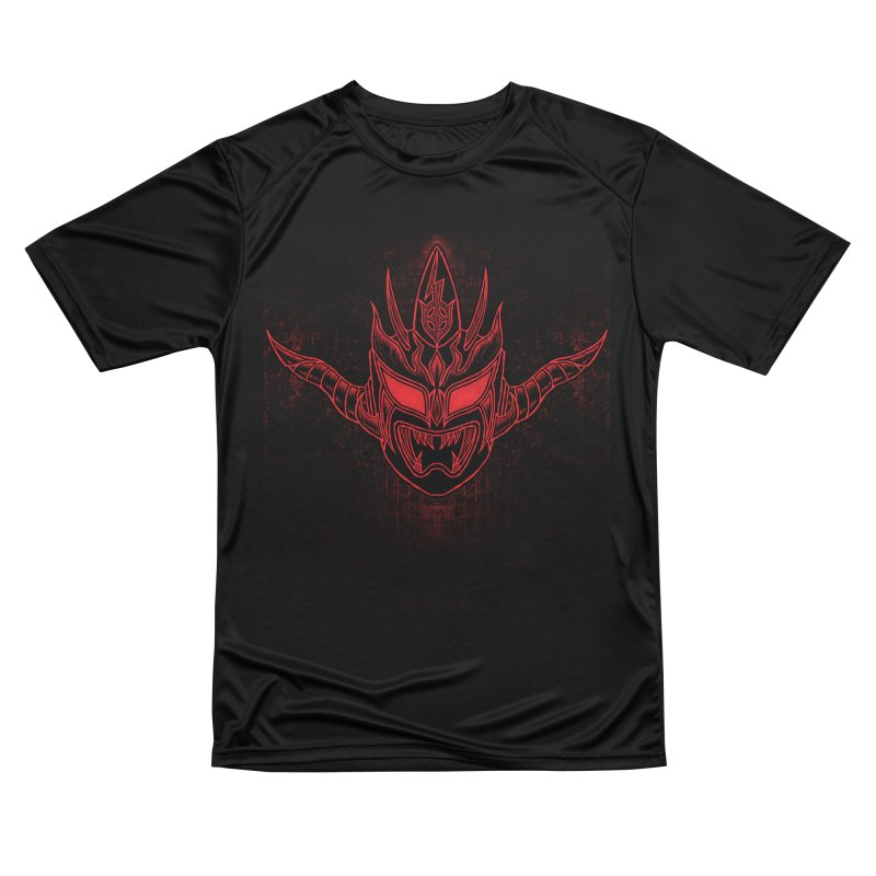 Red Thunder Men's Performance T-Shirt by inbrightestday's Artist Shop