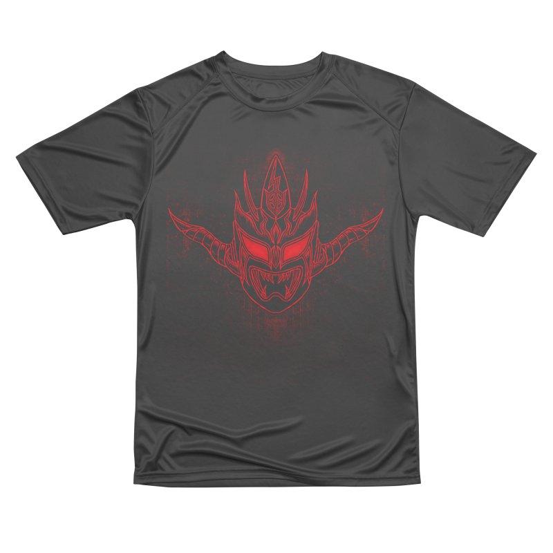 Red Thunder Women's Performance Unisex T-Shirt by inbrightestday's Artist Shop