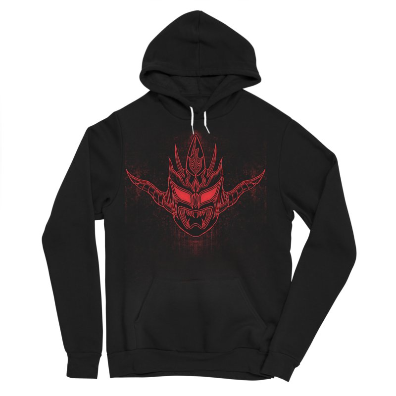 Red Thunder Men's Sponge Fleece Pullover Hoody by inbrightestday's Artist Shop