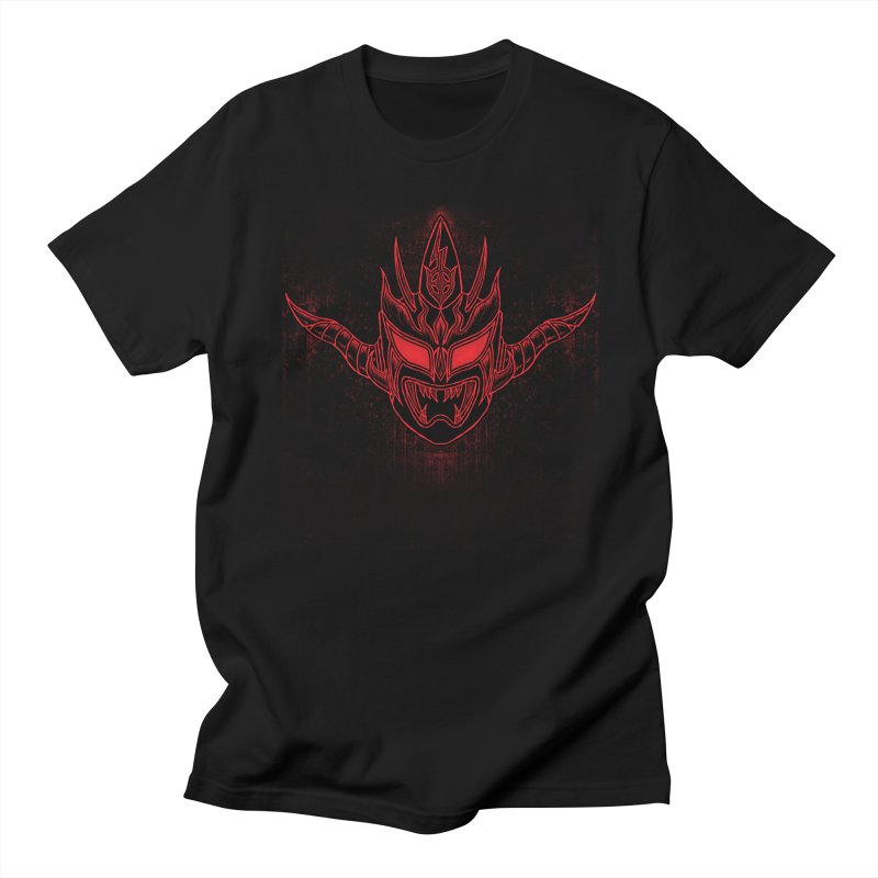 Red Thunder Men's Regular T-Shirt by inbrightestday's Artist Shop