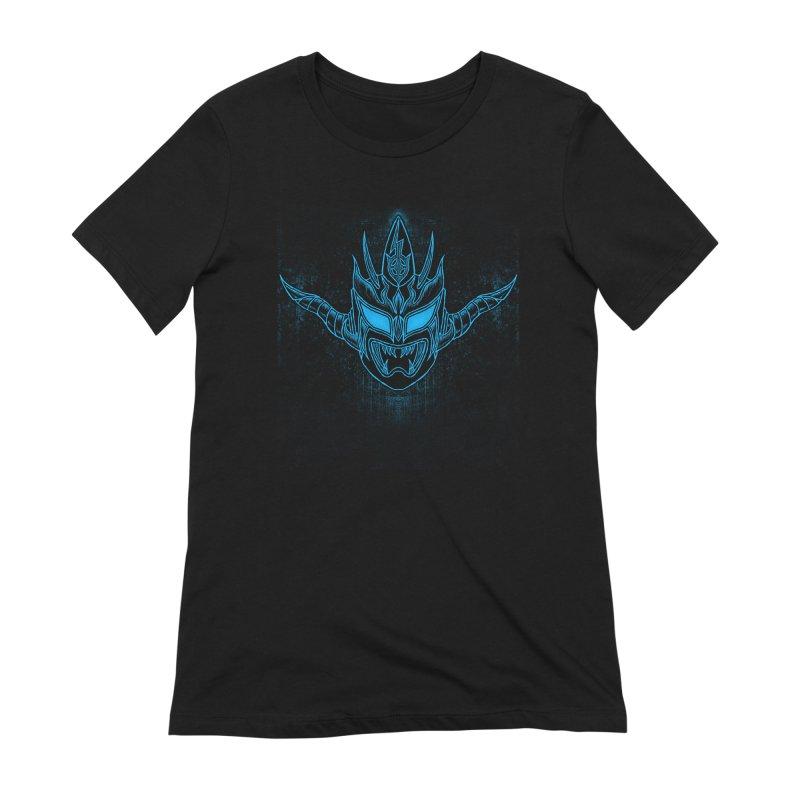 Blue Liger Women's Extra Soft T-Shirt by inbrightestday's Artist Shop