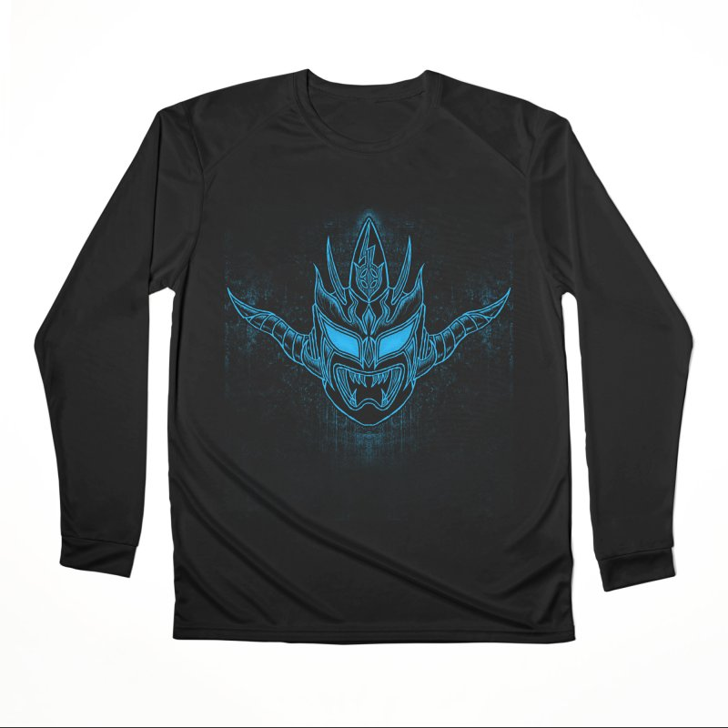 Blue Liger Men's Performance Longsleeve T-Shirt by inbrightestday's Artist Shop