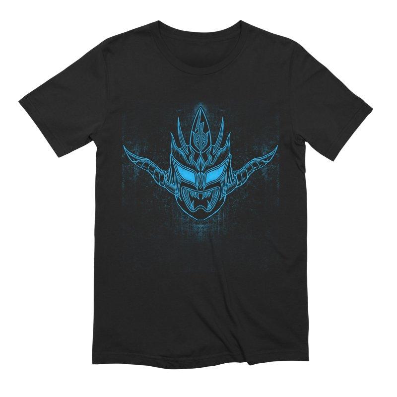 Blue Liger Men's Extra Soft T-Shirt by inbrightestday's Artist Shop