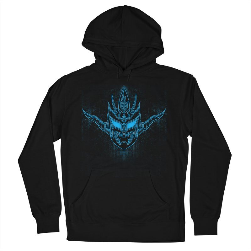 Blue Liger Men's French Terry Pullover Hoody by inbrightestday's Artist Shop