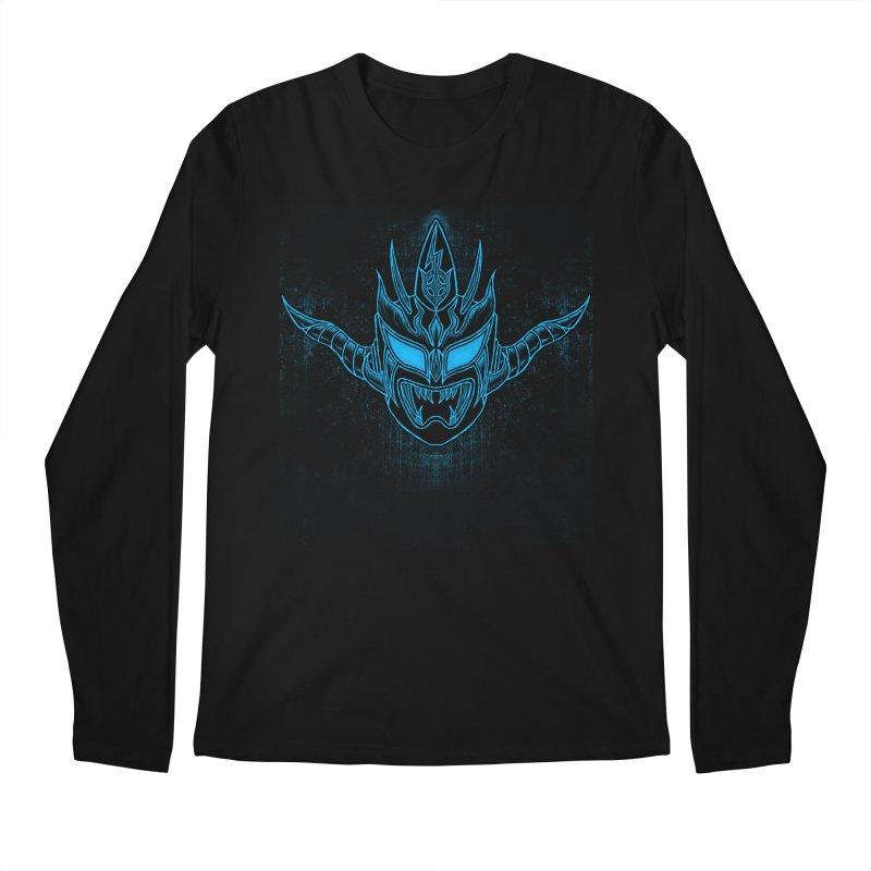 Blue Liger Men's Regular Longsleeve T-Shirt by inbrightestday's Artist Shop