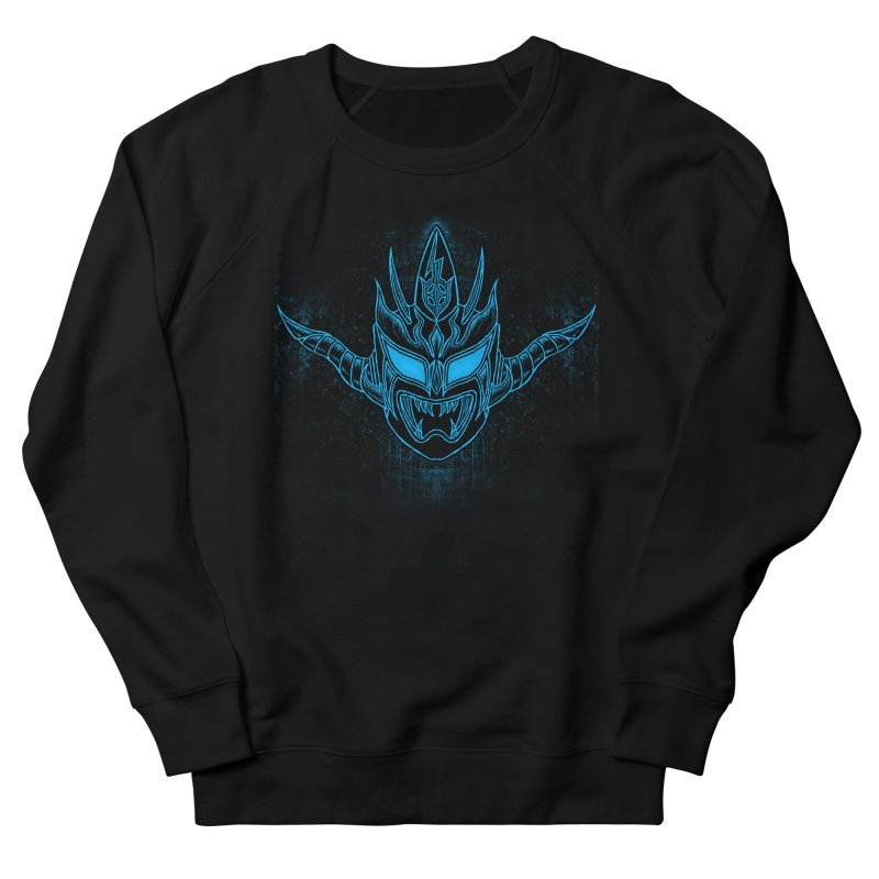 Blue Liger Men's French Terry Sweatshirt by inbrightestday's Artist Shop