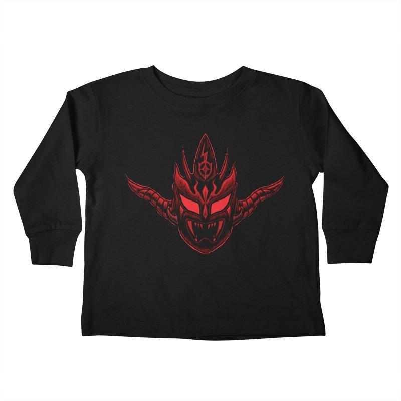 Dark Thunder Kids Toddler Longsleeve T-Shirt by inbrightestday's Artist Shop