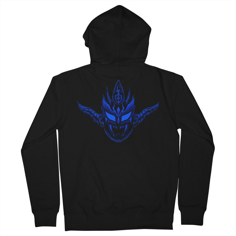 Liger Dark Women's French Terry Zip-Up Hoody by inbrightestday's Artist Shop