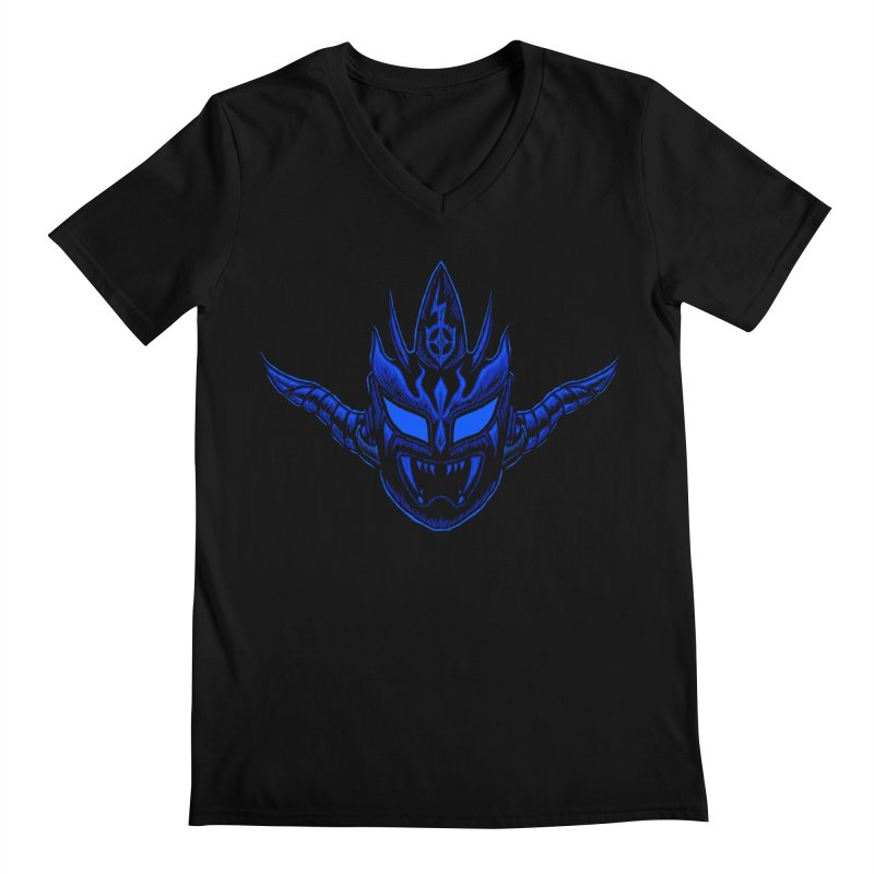 Liger Dark Men's V-Neck by inbrightestday's Artist Shop