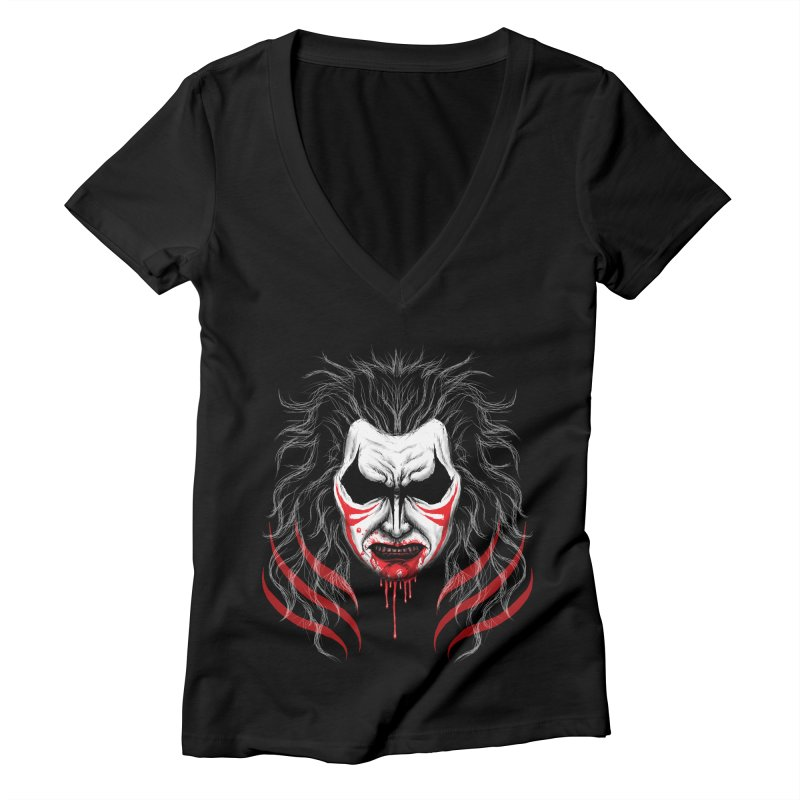 KISHIN Women's V-Neck by inbrightestday's Artist Shop