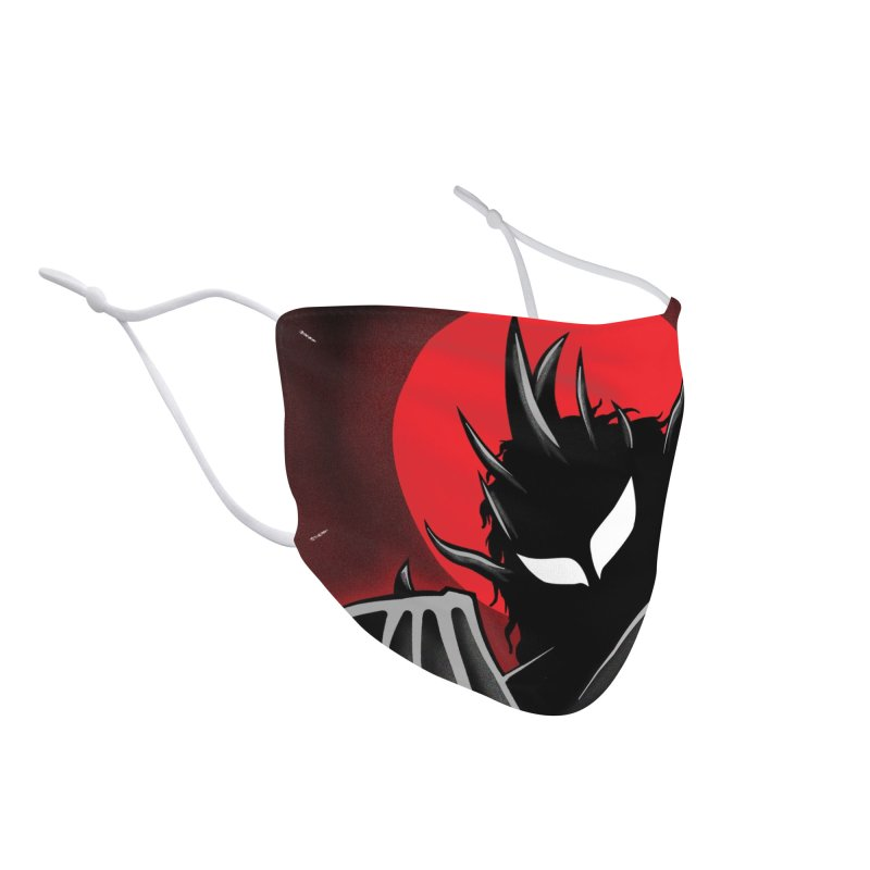 Thunder of the Night Accessories Face Mask by inbrightestday's Artist Shop