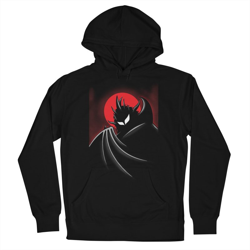 Thunder of the Night Women's French Terry Pullover Hoody by inbrightestday's Artist Shop