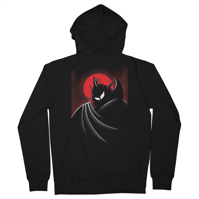 Thunder of the Night Men's French Terry Zip-Up Hoody by inbrightestday's Artist Shop