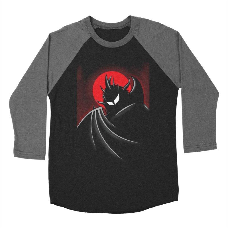 Thunder of the Night Women's Baseball Triblend Longsleeve T-Shirt by inbrightestday's Artist Shop