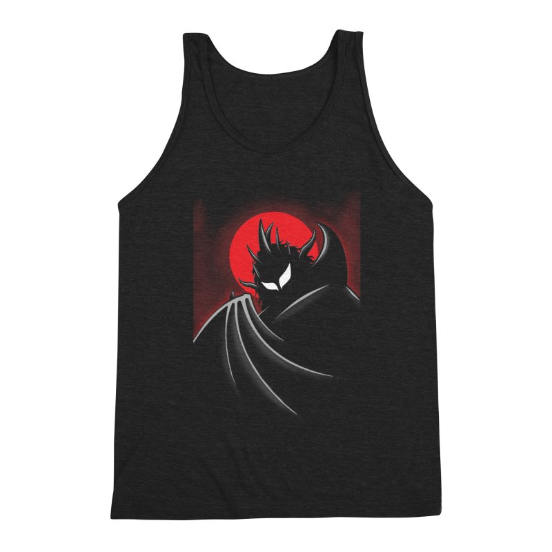 Thunder of the Night Men's Triblend Tank by inbrightestday's Artist Shop