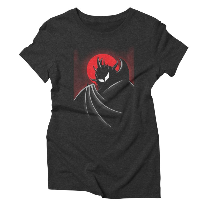 Thunder of the Night Women's Triblend T-Shirt by inbrightestday's Artist Shop