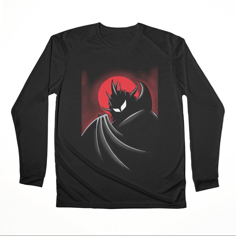 Thunder of the Night Men's Performance Longsleeve T-Shirt by inbrightestday's Artist Shop