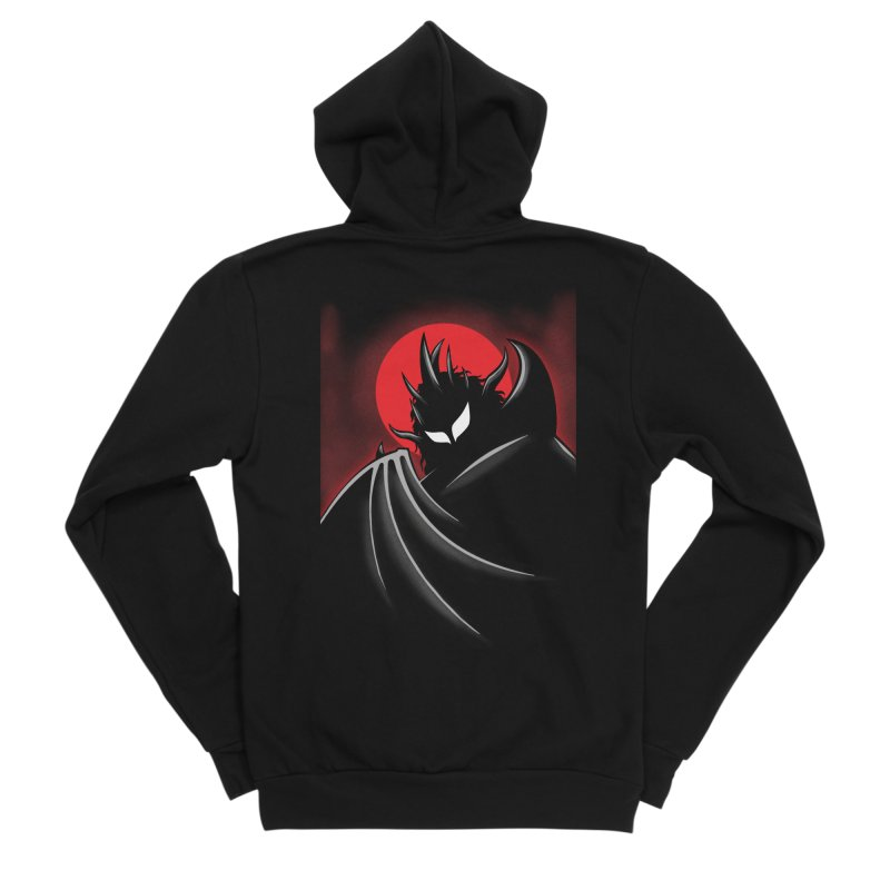Thunder of the Night Men's Zip-Up Hoody by inbrightestday's Artist Shop