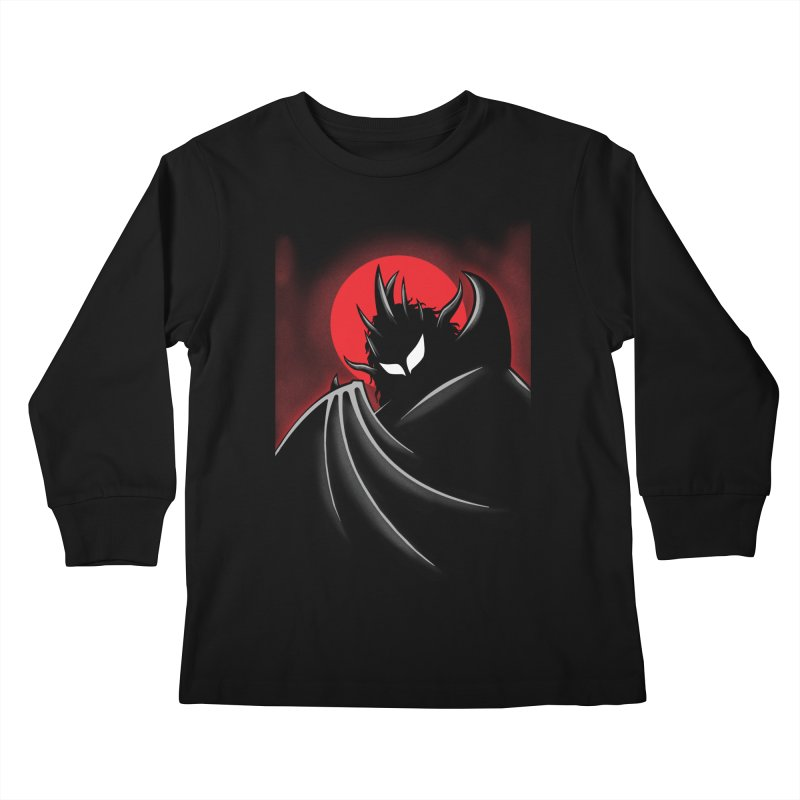 Thunder of the Night Kids Longsleeve T-Shirt by inbrightestday's Artist Shop