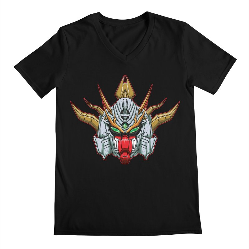 Mechanical Liger Men's V-Neck by inbrightestday's Artist Shop