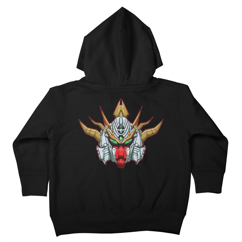 Mechanical Liger Kids Toddler Zip-Up Hoody by inbrightestday's Artist Shop