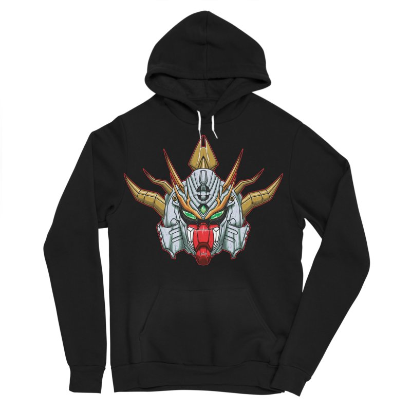 Mechanical Liger Men's Sponge Fleece Pullover Hoody by inbrightestday's Artist Shop