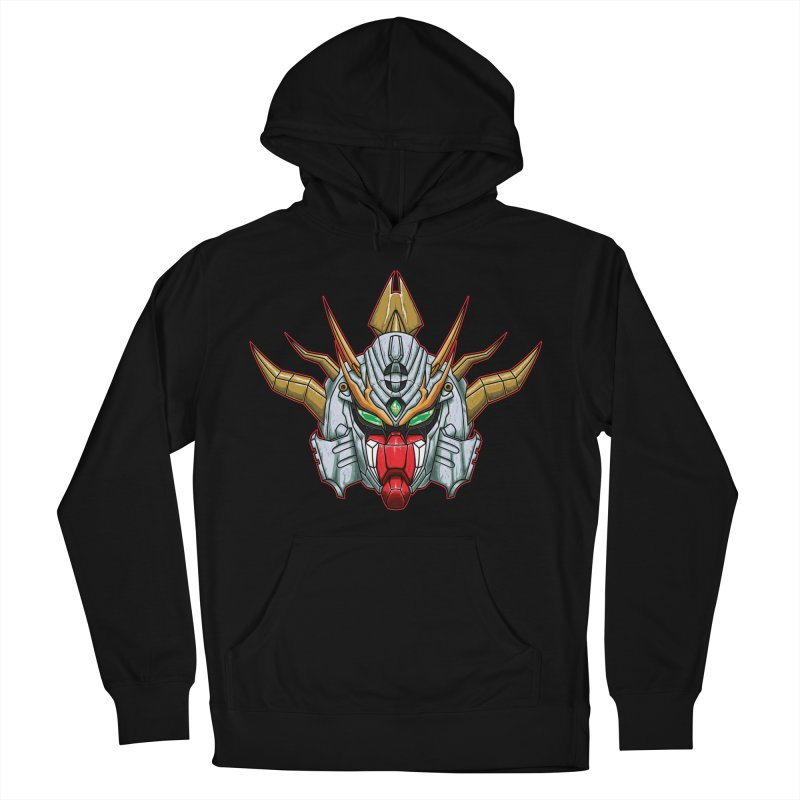 Mechanical Liger Men's French Terry Pullover Hoody by inbrightestday's Artist Shop
