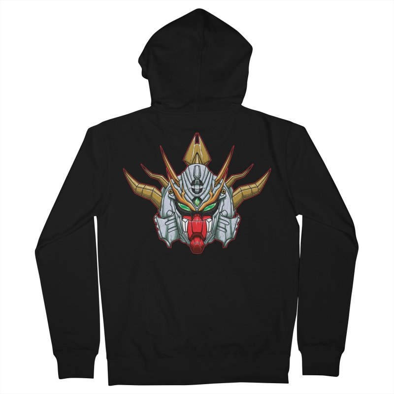 Mechanical Liger Men's French Terry Zip-Up Hoody by inbrightestday's Artist Shop