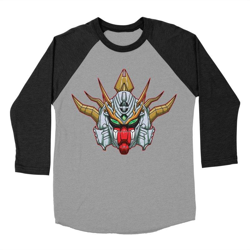Mechanical Liger Women's Baseball Triblend Longsleeve T-Shirt by inbrightestday's Artist Shop