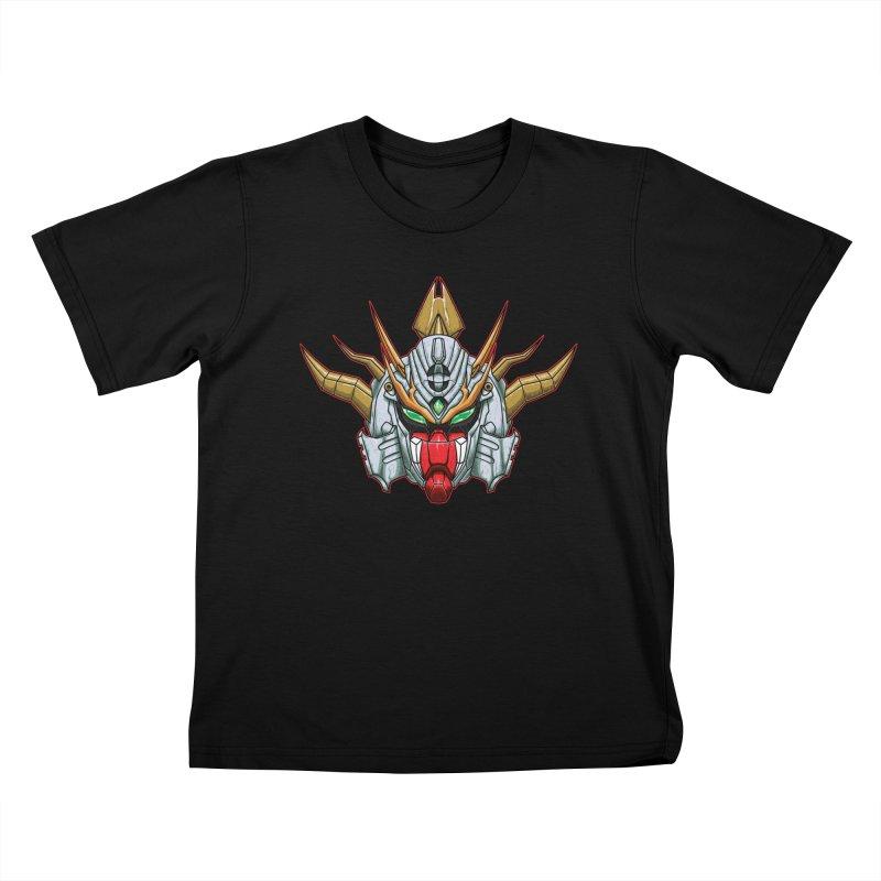 Mechanical Liger Kids T-Shirt by inbrightestday's Artist Shop