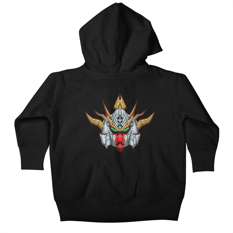 Mechanical Liger Kids Baby Zip-Up Hoody by inbrightestday's Artist Shop