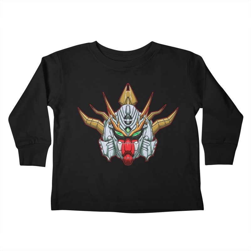 Mechanical Liger Kids Toddler Longsleeve T-Shirt by inbrightestday's Artist Shop