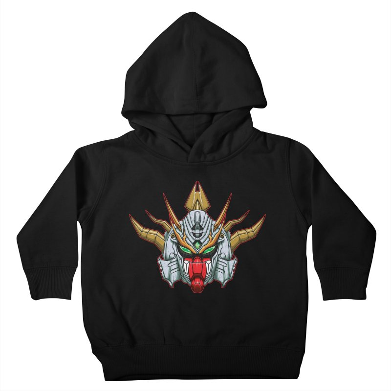 Mechanical Liger Kids Toddler Pullover Hoody by inbrightestday's Artist Shop