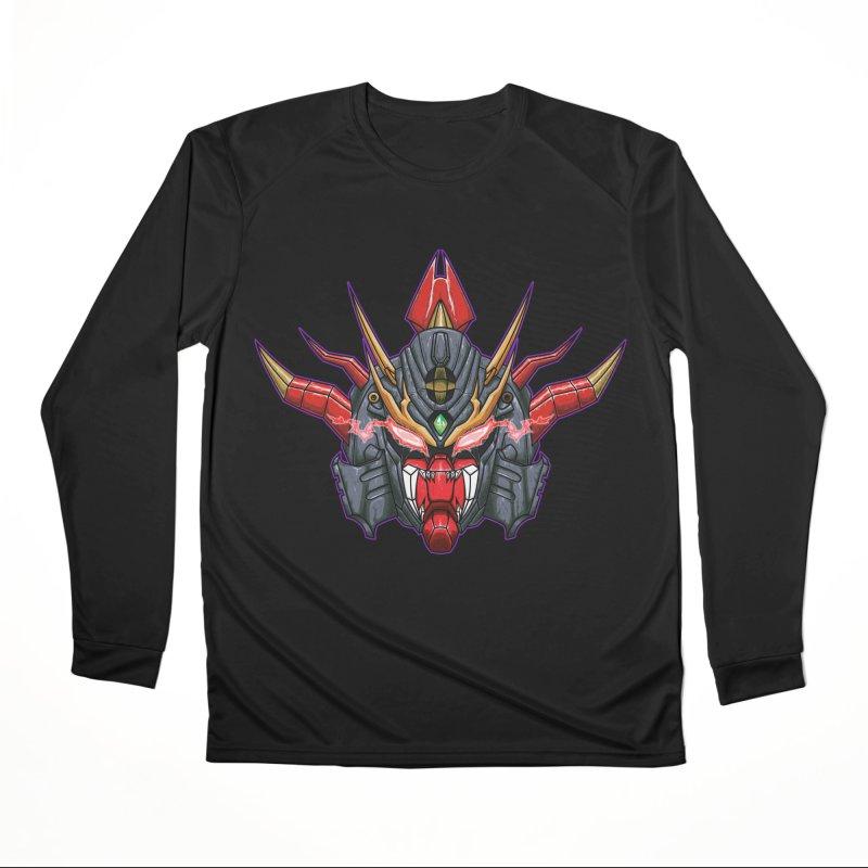 Liger Beast Mech Women's Performance Unisex Longsleeve T-Shirt by inbrightestday's Artist Shop