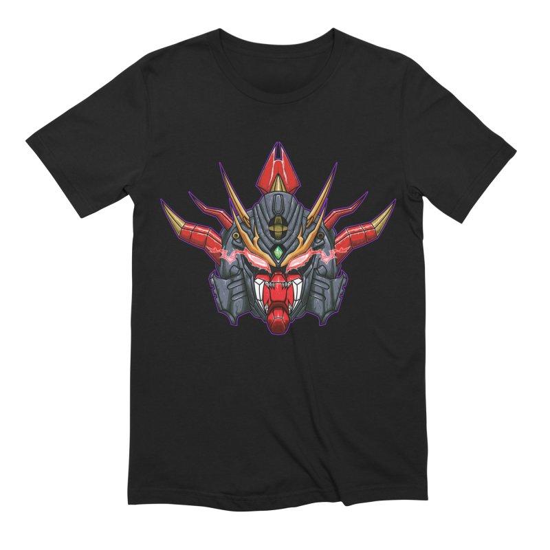 Liger Beast Mech Men's T-Shirt by inbrightestday's Artist Shop