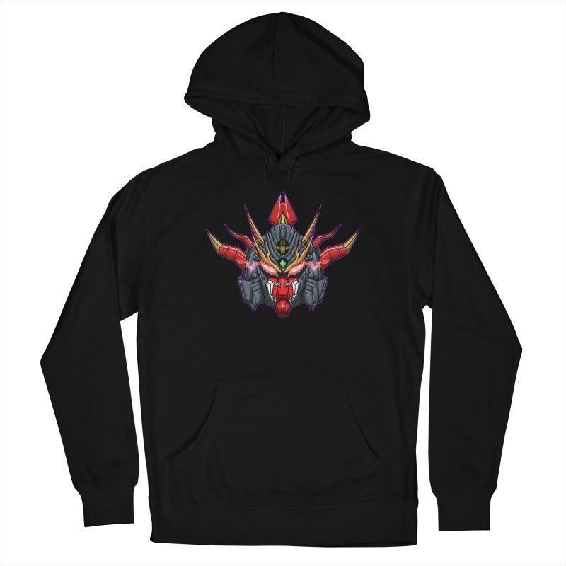 Liger Beast Mech Women's French Terry Pullover Hoody by inbrightestday's Artist Shop