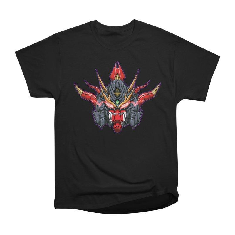 Liger Beast Mech Women's Heavyweight Unisex T-Shirt by inbrightestday's Artist Shop