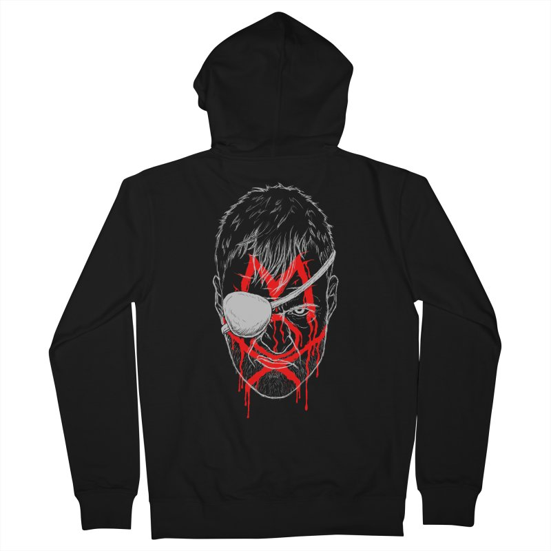Evil Eye Women's French Terry Zip-Up Hoody by inbrightestday's Artist Shop