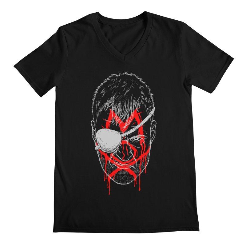Evil Eye Men's Regular V-Neck by inbrightestday's Artist Shop