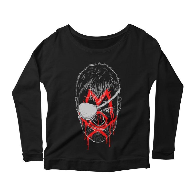 Evil Eye Women's Scoop Neck Longsleeve T-Shirt by inbrightestday's Artist Shop