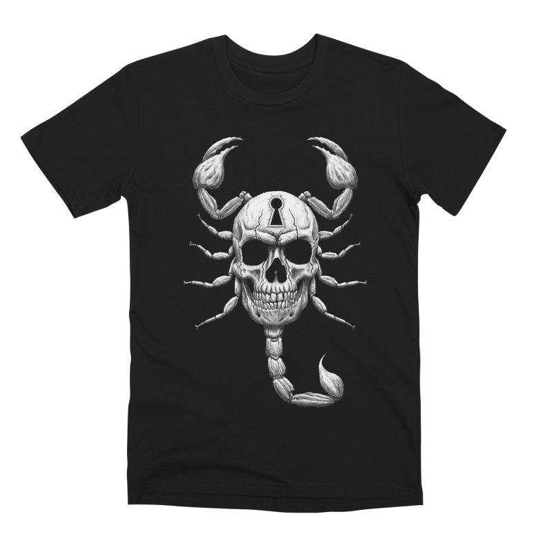 Death Lock Men's T-Shirt by inbrightestday's Artist Shop