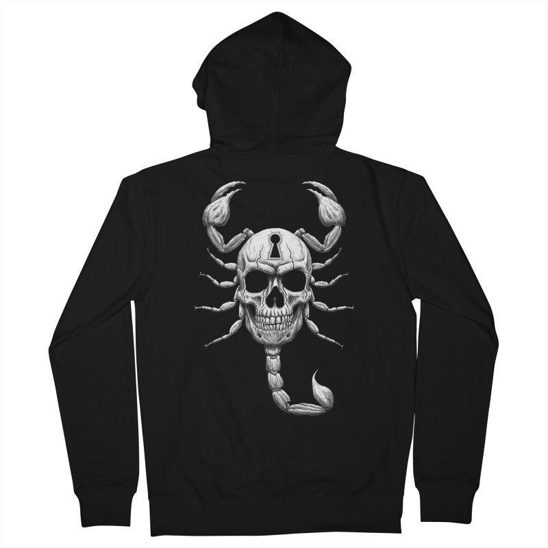 Death Lock Men's Zip-Up Hoody by inbrightestday's Artist Shop