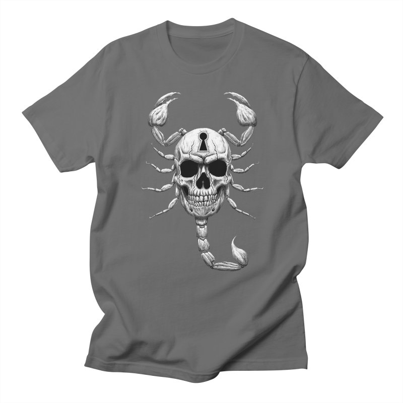 Death Lock Men's T-Shirt by inbrightestday's Artist Shop